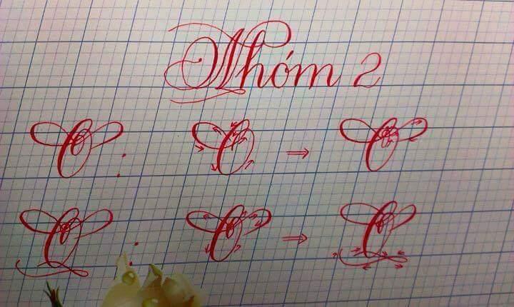 các kiểu chữ đẹp